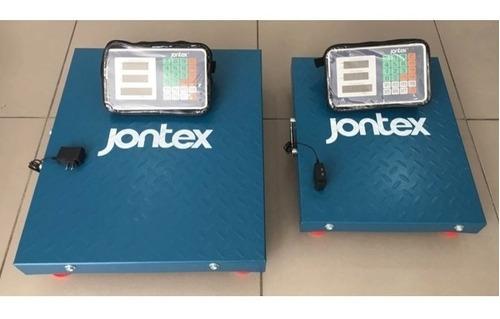 balanza inalámbrica electrónica jontex 300 / 500 kg lbs