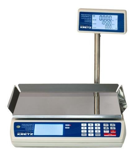balanza kretz novel eco 30kgs. c/ bateria