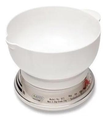 balanza mecánica de cocina aspen (kci) nueva garantía