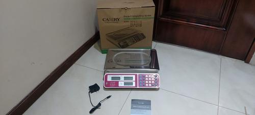 balanza mostrador digital lcd camry electrica guayaquil