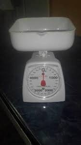 balanza para cocina, para uso en cafeteria