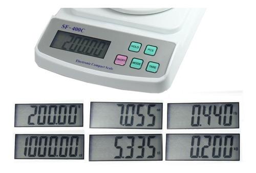 balanza para laboratorio analitica  digital 500gr x 0.01g