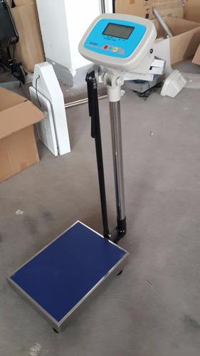 balanza para medir estatura y peso  de 200 kg