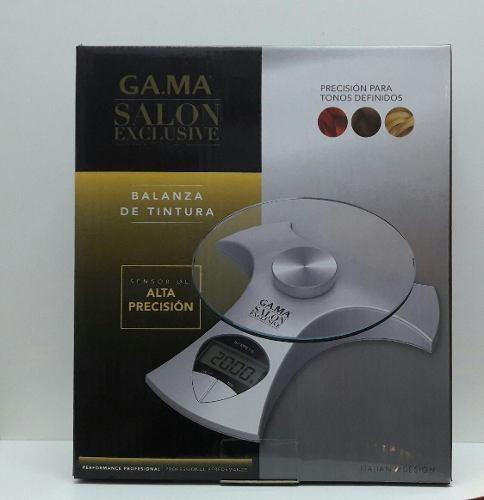 balanza para tintura gama profesional salon exclusive