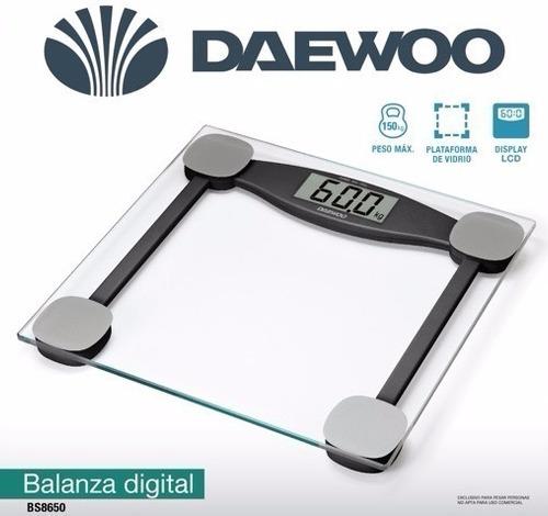 balanza personal bs8650 daewoo