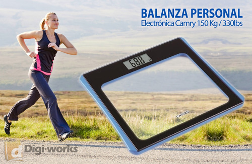 balanza personal electrónica camry150 kg/330lbs incluido iva