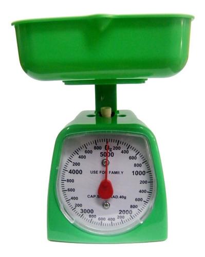 balanza pesa de  1 gramo hasta 5 kilos.