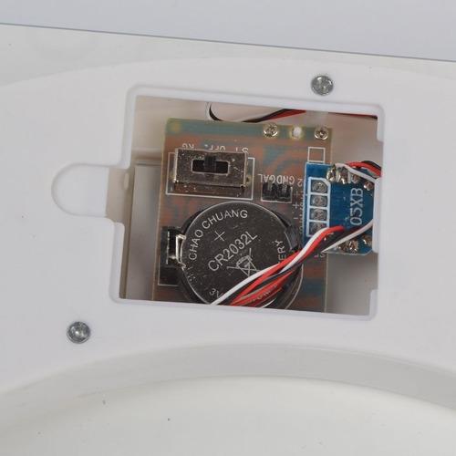 balanza pesa digital baño 180kg vidrio templado temperatura