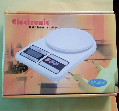 Balanza peso digital de cocina hasta 5kg tare sf400 bs - Peso de cocina ...