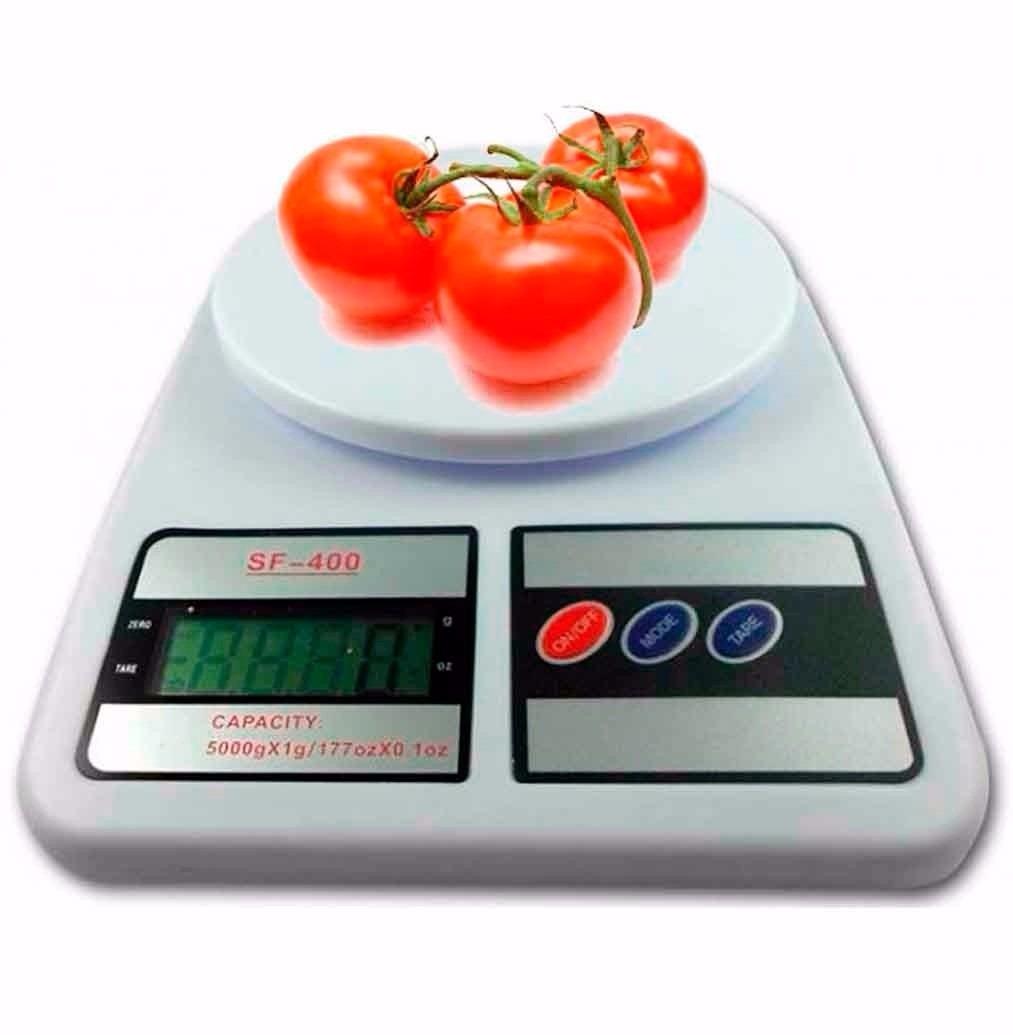 Balanza Peso Digital De Cocina Hasta 7kg X 1g Model Sf - 400 - Bs ...