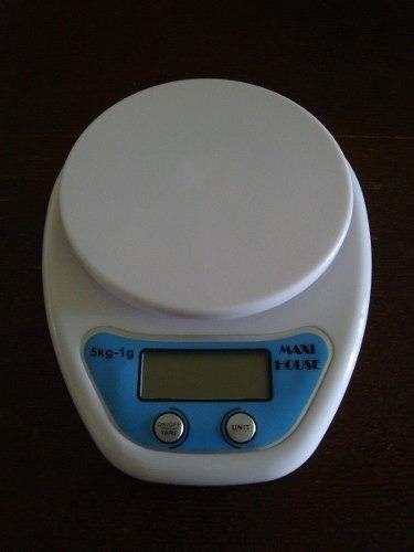 balanza peso digital de cocinas 5 kilos nueva