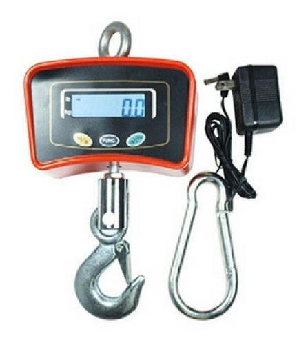 balanza / peso digital de gancho 500 kg recargable - tienda