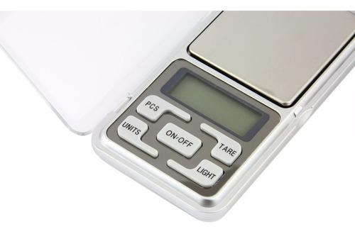 balanza peso digital joyero 500g x 0.1g incluye bateria