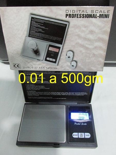 balanza peso digital joyero mineria oro milesimas