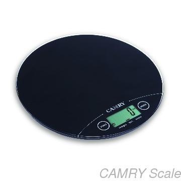 balanza peso gramera de cocina digital circular  5 kg slim