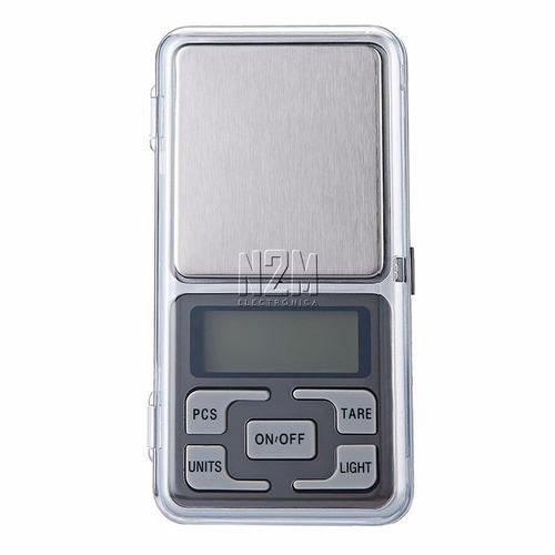 balanza precision digital de 0.1 gr a 1 kg tara portabl n2m