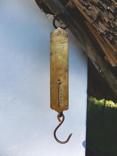 balanza romana 12kg pitón de mano o de colgar - subte a