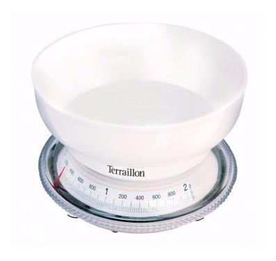 balanza terraillon cocina francesa t206 peso max 2kg pintumm