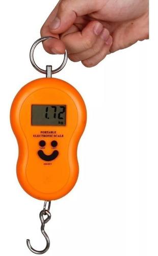 balanza viaje pesca 50 kg digital valijas colgar portátil !!