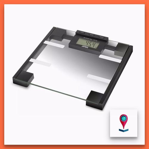 balanza vidrio baño digital atma ba7503e 150kg medidor masa