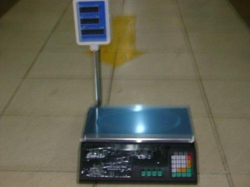 balanzas electronicas 40kg con torre