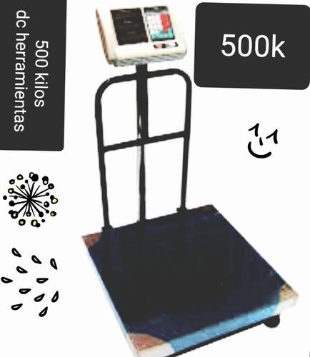 balanzas electrónicas industriales 500 kg nuevo 7 memorias