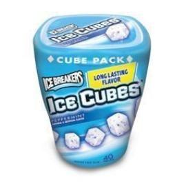 balas cubo de gelo em 4 sabores 92 g