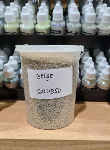balasto para ferromodelismo 0,5 kg beige grano grueso