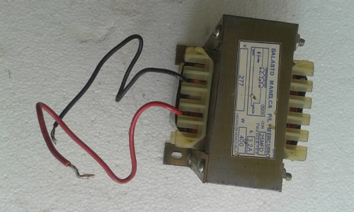 balastro para luminarias 400 watt 277 v