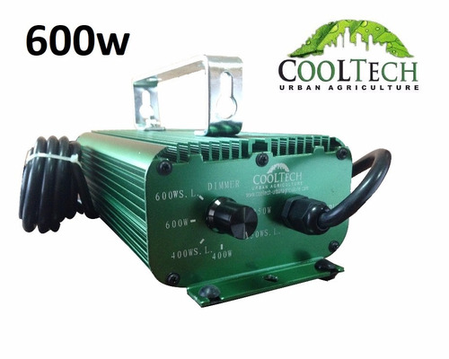 balastro regulable 6 posiciones 600w cooltech - uruweed grow