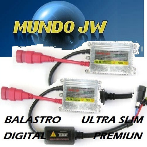 balastro xenon 35 watts 12 vots ultra slim calidad premium