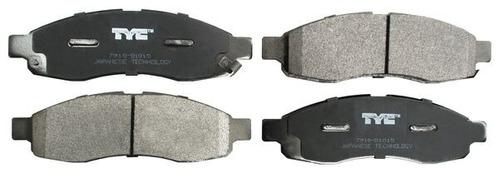 balata del armada/titan 05-16 semimetalica jgo