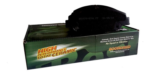 balatas cerámicas best brakes ford f-350 super duty 2014 del