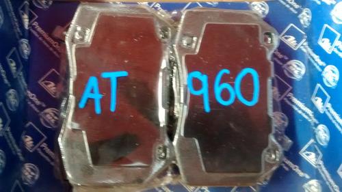 balatas delantera sentra nissan 06-350 z rack 03  ate at960