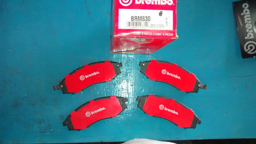 balatas delanteras avalanche suburban 2500 06- brembo brm784