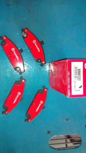 balatas delanteras f250 00- brembo brm756