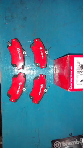 balatas delanteras toyota camary 02-06 brembo brm908