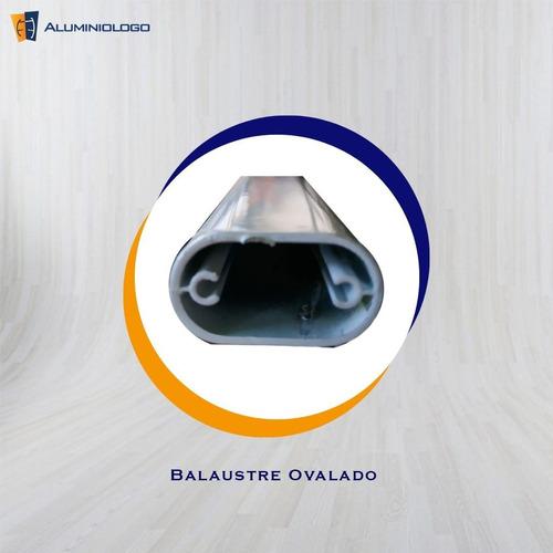 balaustre ovalado  de aluminio (6,10m)