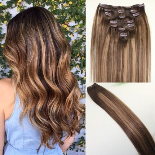balayage casta o marr n ombre humano remy 16 inch en mercado libre. Black Bedroom Furniture Sets. Home Design Ideas