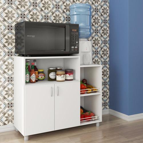 balcão armário fruteira para micro/forno e água
