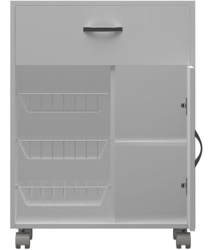 balcão armário microondas cozinha fruteira 86x67x39cm