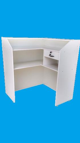 balcão caixa em l (lojas, farmácias, mercados, aviários)
