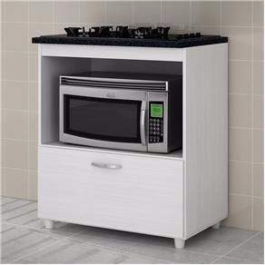 balcão cozinha para cooktop, fogão 4 e 5 bocas, branco