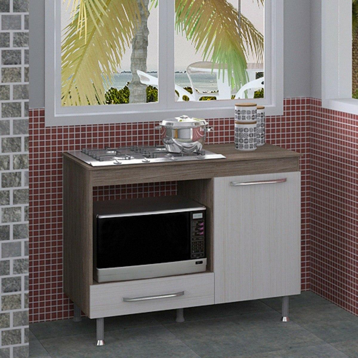 Balc O Grande De Cozinha Para Cooktop E Forno El Trico R 258 00  ~ Balcão De Cozinha Em Alvenaria
