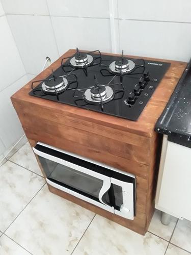 balcão para cooktop!