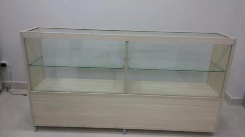 balcão vitrine expositor celular bijuteria noce mare