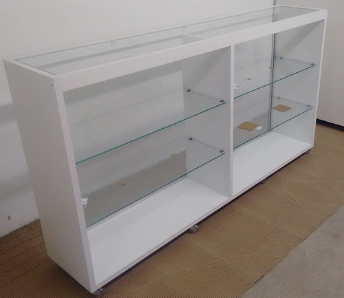 balcão vitrine expositor celular comercio loja bijuteria