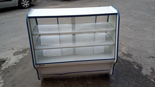 balcão vitrine seco
