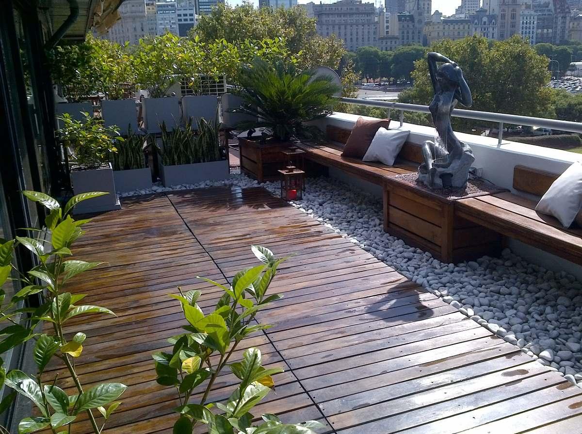 Balcones terrazas parques y jardines dise o y - Diseno de porches y terrazas ...