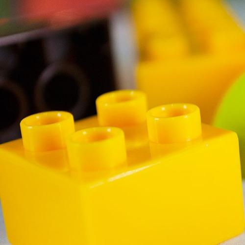 balde block lego 50 piezas grandes